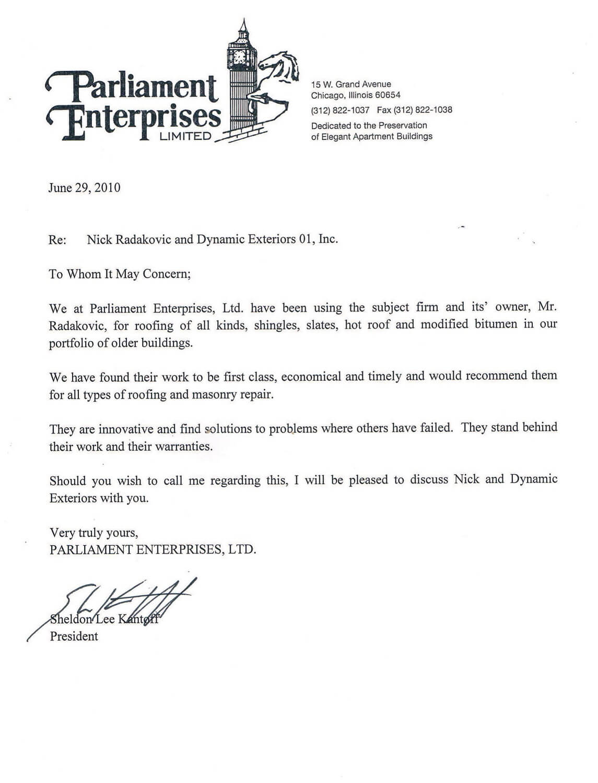 Parliament Enterprises, Ltd